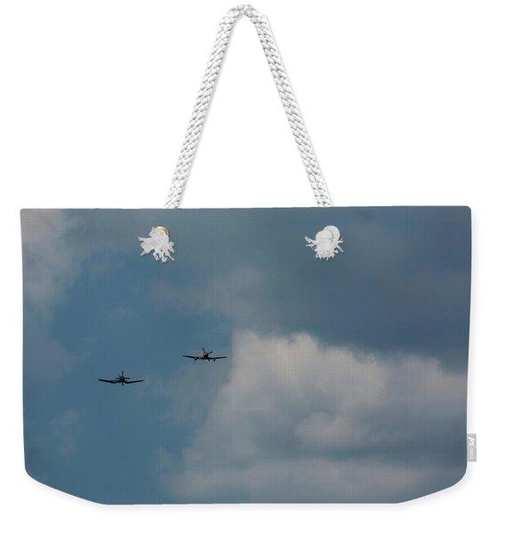 F4u-4 Corsair - Sawbones Airplanes 8 Weekender Tote Bag