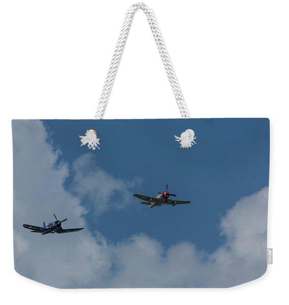 F4u-4 Corsair - Sawbones Airplanes 9 Weekender Tote Bag