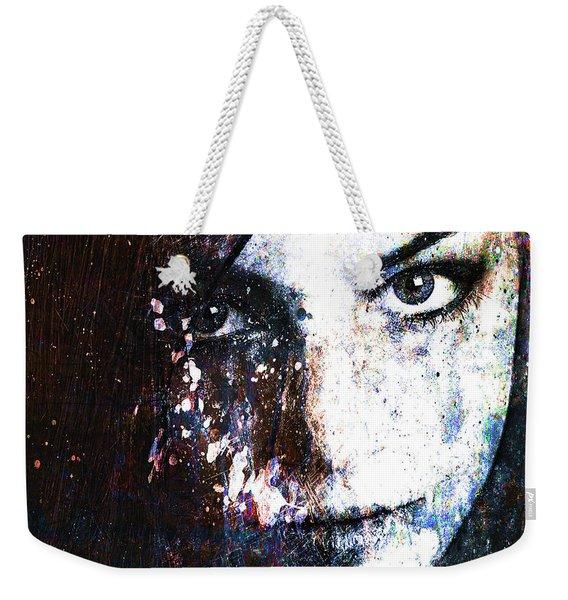 Face In A Dream Weekender Tote Bag