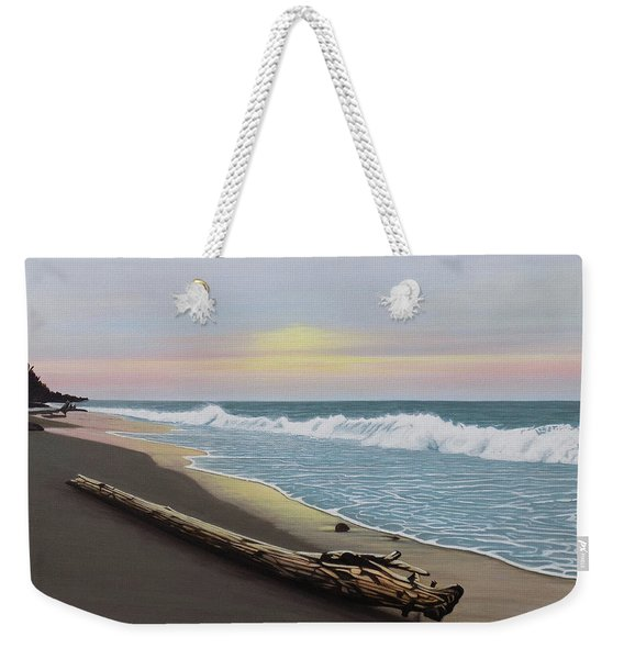 Face To The Morning Weekender Tote Bag