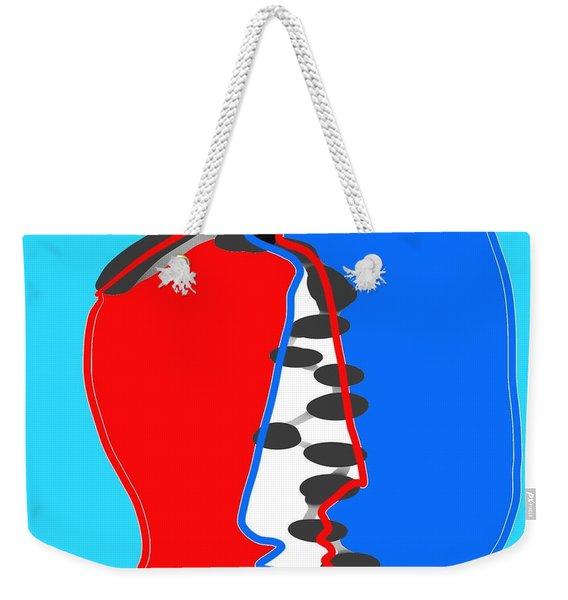 Faces Weekender Tote Bag
