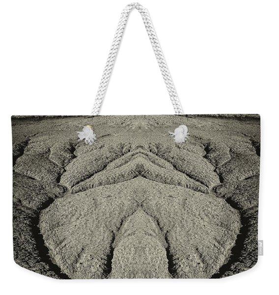 Factory Butte Digital Art Weekender Tote Bag
