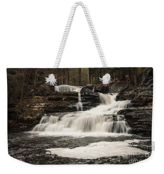 Factory Falls Weekender Tote Bag