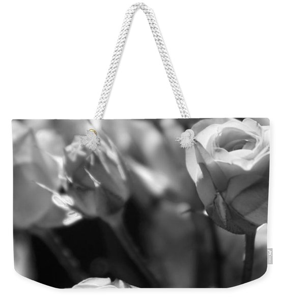 Faded Rose Weekender Tote Bag