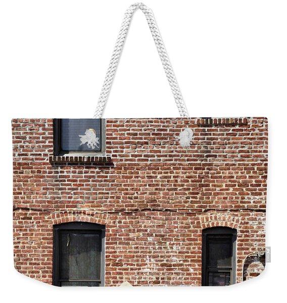 Fading Brick Facade Weekender Tote Bag