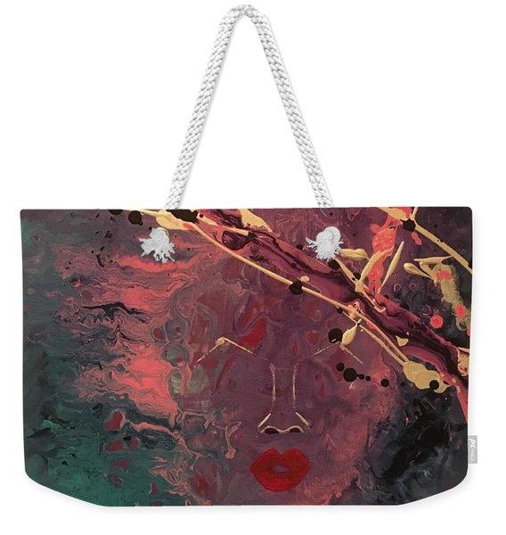 Illusion Of Her Weekender Tote Bag