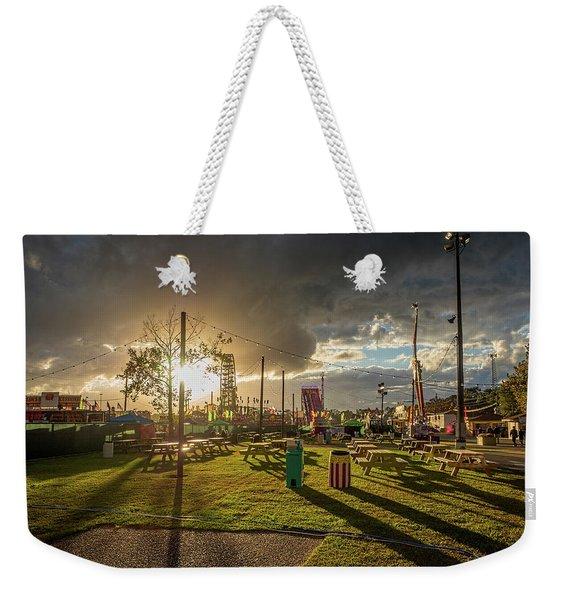 Fair Sunset Weekender Tote Bag