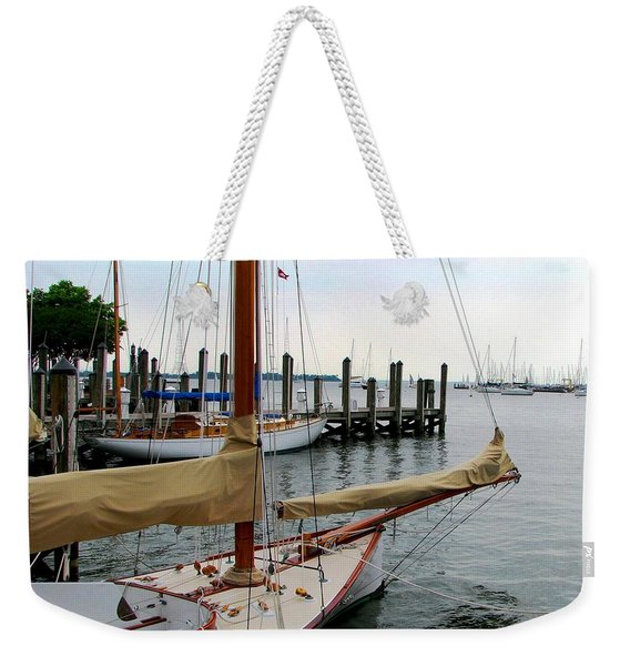 Fair Weather Annapolis  Weekender Tote Bag