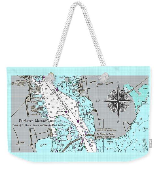 Fairhaven Detail Weekender Tote Bag