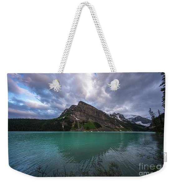 Fairview Mountain And Lake Louise Weekender Tote Bag