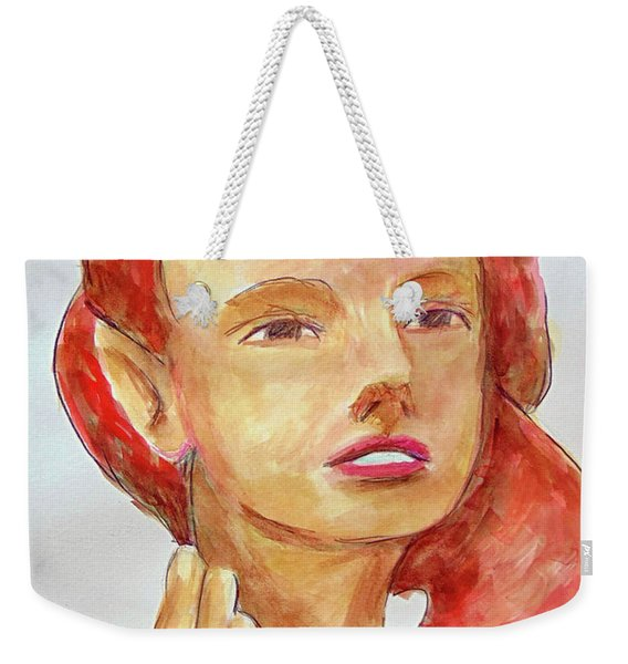 Fairy Face Weekender Tote Bag