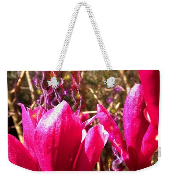 Fairy Fire Weekender Tote Bag