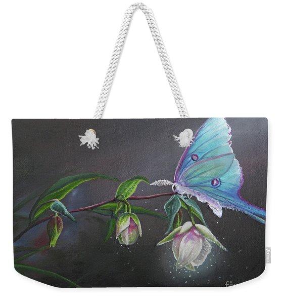 Fairy Lantern's Glow Weekender Tote Bag