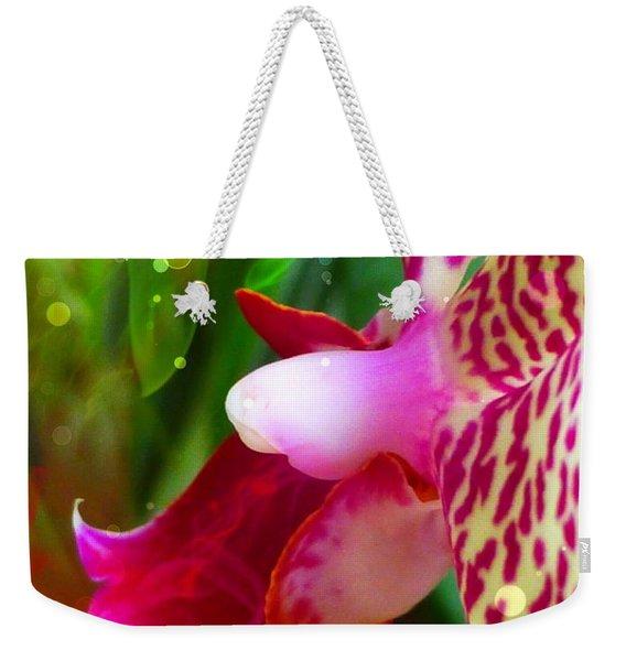 Fairy Orchid Weekender Tote Bag