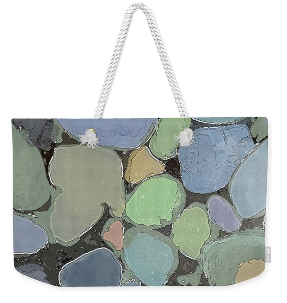 Weekender Tote Bag featuring the digital art Fairy Pool by Gina Harrison
