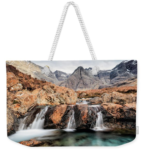 Fairy Pools Weekender Tote Bag