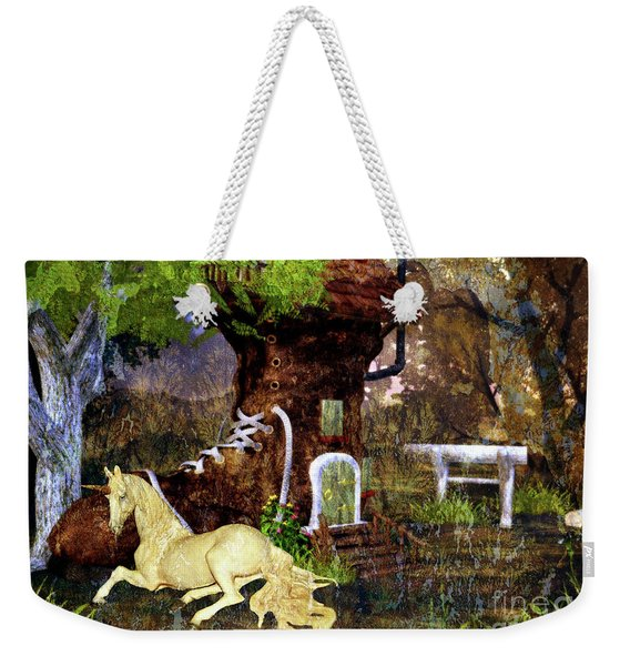 Fairy Retreat Weekender Tote Bag