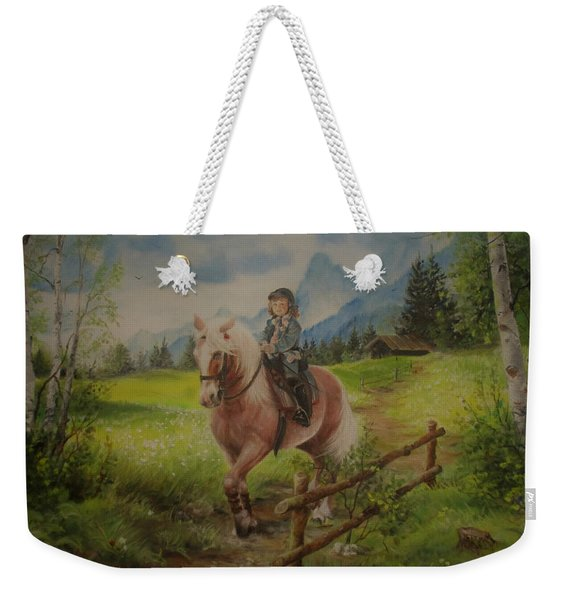 Fairy Tale In The Alps Weekender Tote Bag