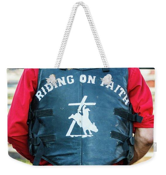Faith Rider Weekender Tote Bag