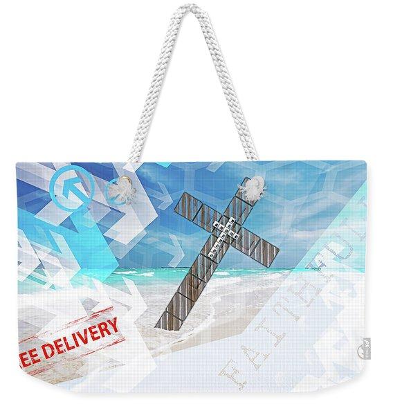 Faithfully Weekender Tote Bag