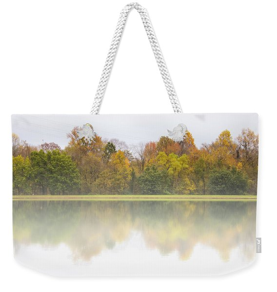 Fall And Fog Weekender Tote Bag