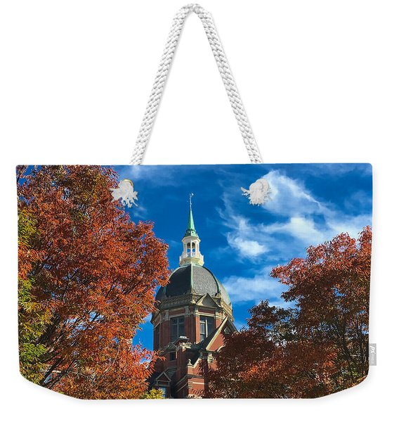 Fall And The Dome Weekender Tote Bag
