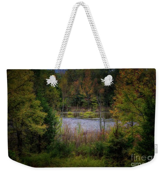 Fall At Fane Creek Weekender Tote Bag