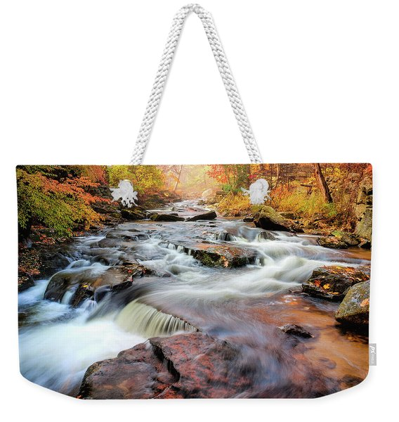 Fall At Gunstock Brook II Weekender Tote Bag