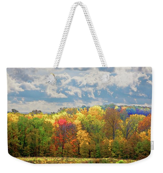 Fall At Shaw Weekender Tote Bag