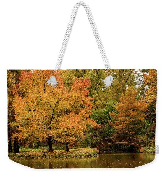 Fall At The Arboretum Weekender Tote Bag