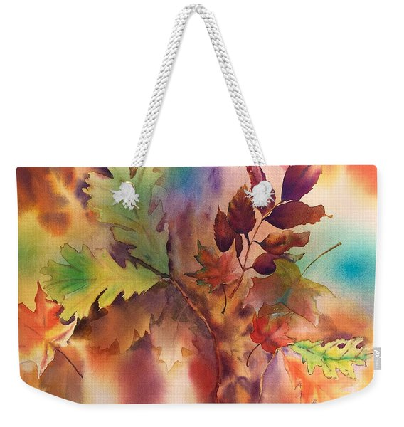 Fall Bouquet Weekender Tote Bag