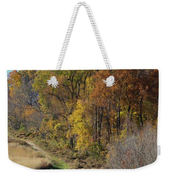 Fall Colors As Oil Weekender Tote Bag