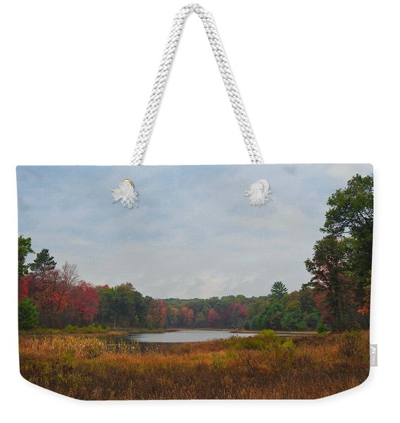 Fall Colors At Gladwin 4459 Weekender Tote Bag