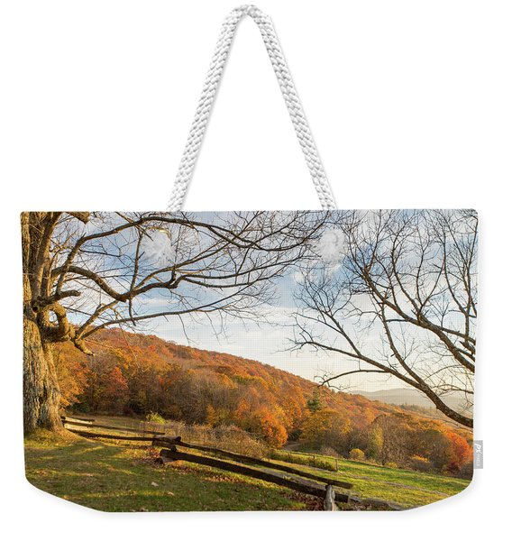 Fall Colors At The Moses Cone Estate Weekender Tote Bag