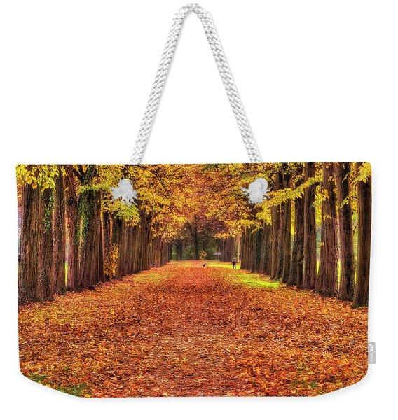 Fall Colors Avenue Weekender Tote Bag