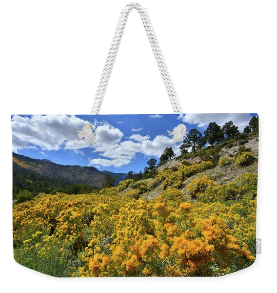 Fall Colors Come To Mt. Charleston Weekender Tote Bag