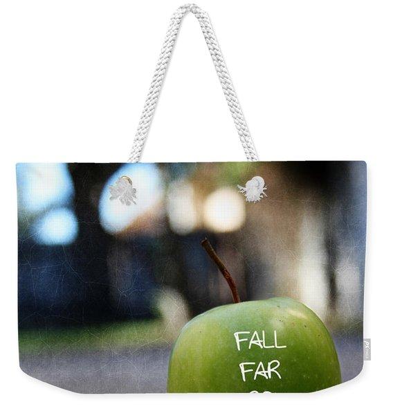 Fall Far From The Tree- Art By Linda Woods Weekender Tote Bag