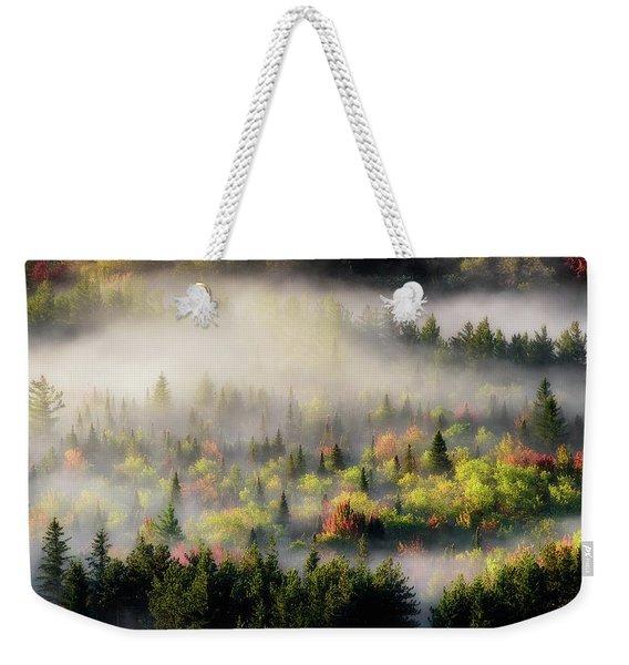 Fall Fog Weekender Tote Bag