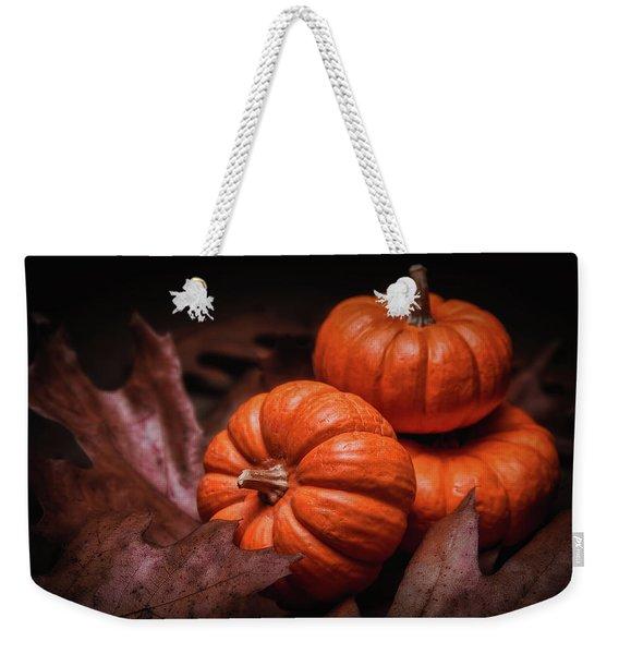Fall Fruits Weekender Tote Bag