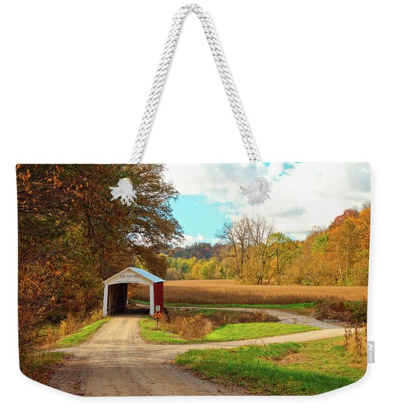Fall Harvest - Parke County Weekender Tote Bag