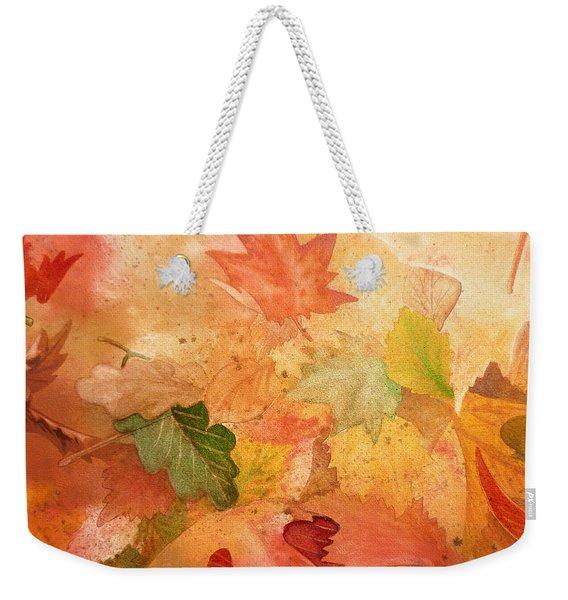 Fall Impressions Iv Weekender Tote Bag