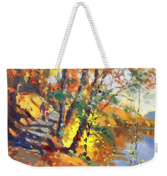 Fall In Bear Mountain Weekender Tote Bag
