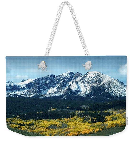 Fall In Colorado Weekender Tote Bag