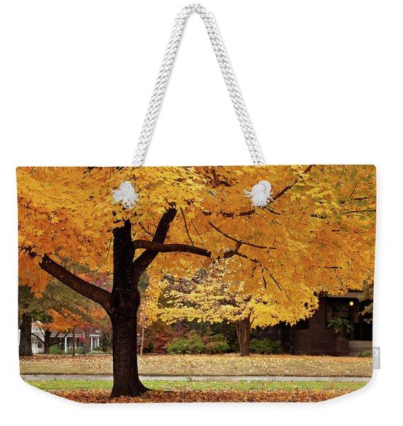 Fall In Downtown Conway Weekender Tote Bag