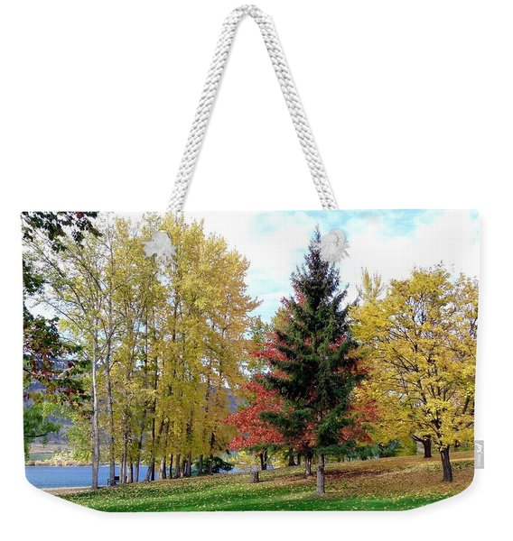 Fall In Kaloya Park 1 Weekender Tote Bag