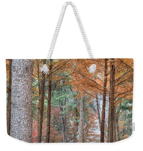 Fall In Korea Weekender Tote Bag