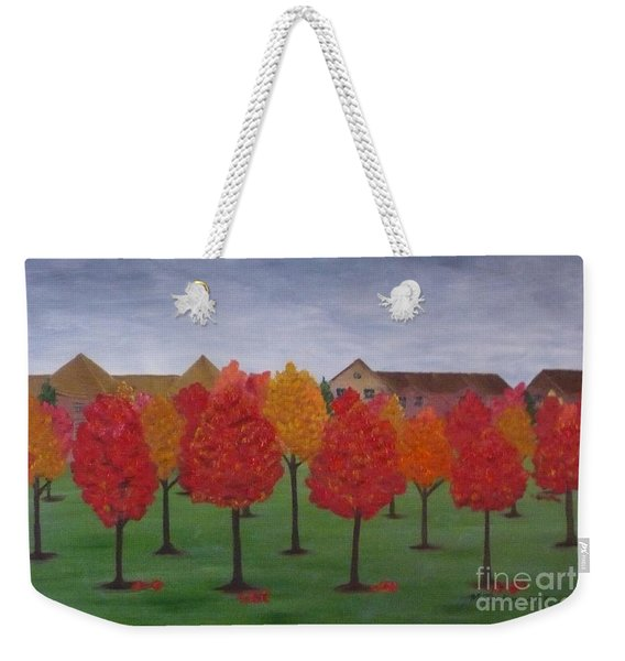 Fall In Markham Weekender Tote Bag