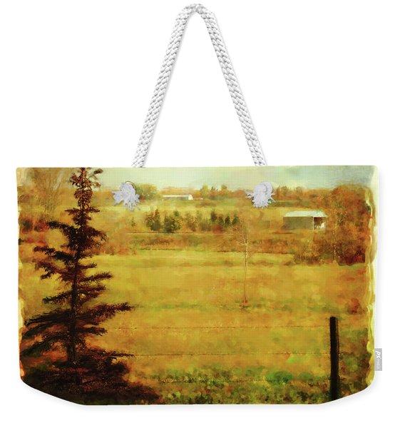 Fall In My Backyard Weekender Tote Bag