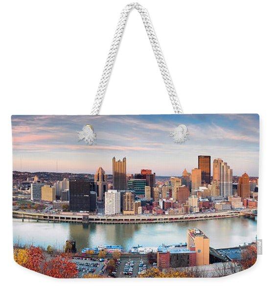 Fall In Pittsburgh  Weekender Tote Bag