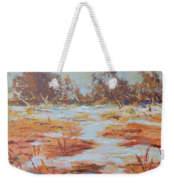 Fall In Provence Weekender Tote Bag